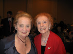Introducing my mom to Madeline Albright