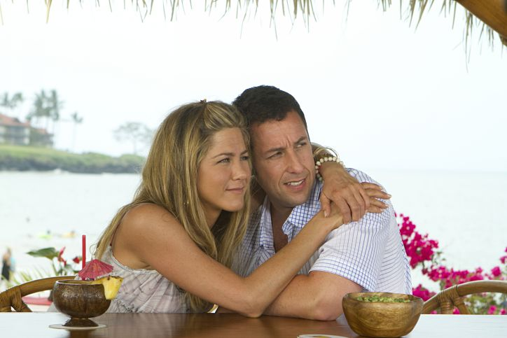 Sígueme el rollo, con Adam Sandler, Jennifer Aniston y Brooklyn Decker