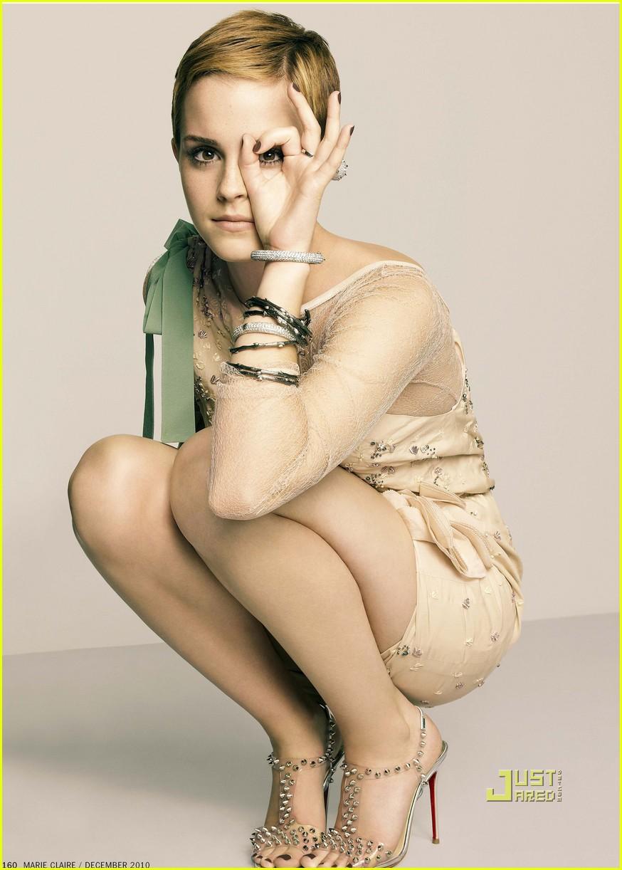 Emma Watson Marie Claire Photoshoot | Cinephotoglitz Shefali Sharma Hot