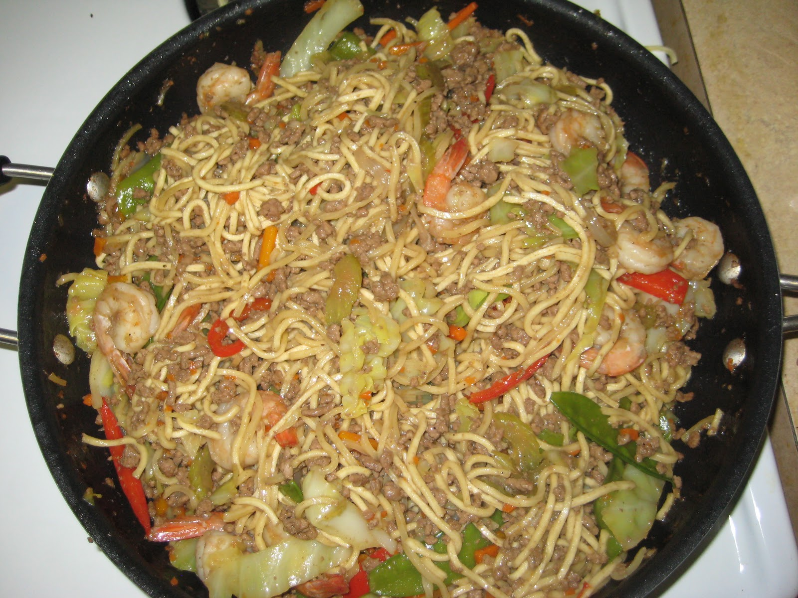 how to cook pancit canton filipino style