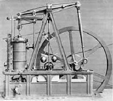 Máquina a Vapor de Watt - Tecnologia