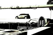 Labels: advertising, car, logo, street, wall (img )