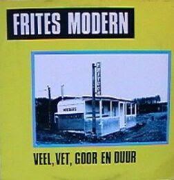 Frites Modern Veel Vet Goor En Duur