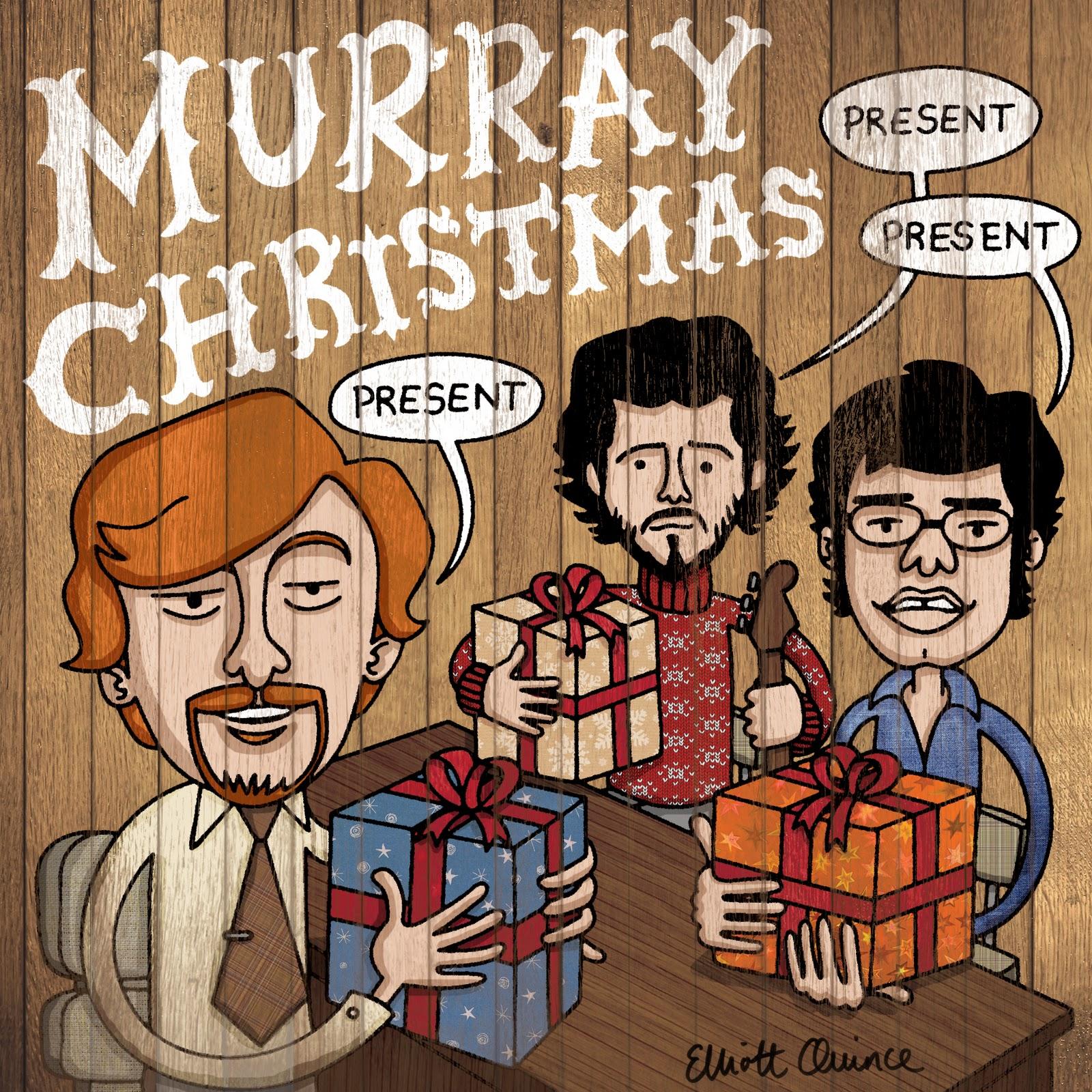QuinkyArt: Flight of the Conchords Christmas card