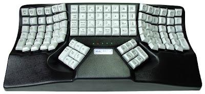 Dual-Handed Ergonomic 3D Keyboard