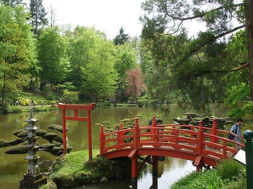 Blogosmose maine et loire jardin de maul vrier le for Portique de jardin japonais