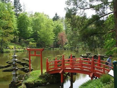 Maine et Loire -  Jardin de Maulévrier - Le plus grand jardin japonais d'Europe