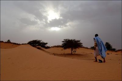 Mauritanie - Désert au bord de Chinguitti