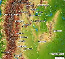 Mapa Cuyo
