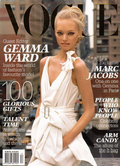 gemma ward vogue