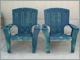 Next, Iu0027ll Be Painting Some Beat Up, Plastic, Adirondack Chairs I Snagged  For Only $5 Each At A Thrift Shop! (Stay Tuned For The Total  Transformation!)