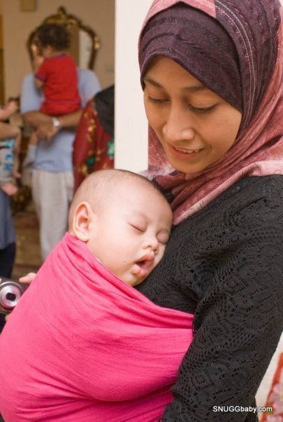 qisah qaseh international babywearing week safe