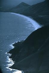 Dziwny brzeg oceanu w Australii...