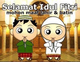 Kumpulan Kata-kata Kalimat Ucapan SMS Selamat Lebaran Hari Raya Besar Idul Fitri Umat Agama Islam Terbaru Update paling Baru