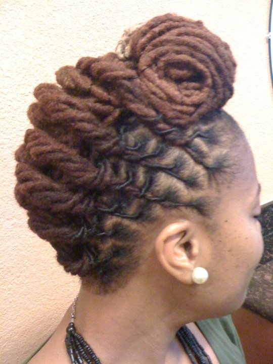 Short Loc Styles For Women Short Hairstyle 2013