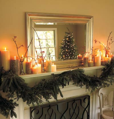 Site Blogspot  House Decor Ideas on Living A Beautiful Life  Christmas Decorating Ideas