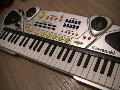 Kidztoyz Kawasaki  Key Musical Keyboard Manual