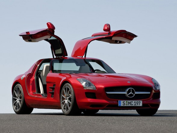 2011 mercedes benz sls amg gullwing harnodi automotive news
