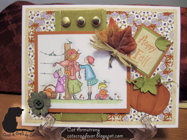 Cat scrap fever a couple cards a product review for Michaels crafts wausau wi