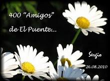 Premio a la amistad recibida de Sergio-Blog El Puente