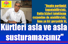 Dtp Kongresinde konuşan Türk : Fırat'ın doğusundaki Ergenekon'u temizleyin