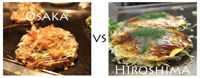 Japan: Okonomiyaki – Hiroshima vs Osaka style