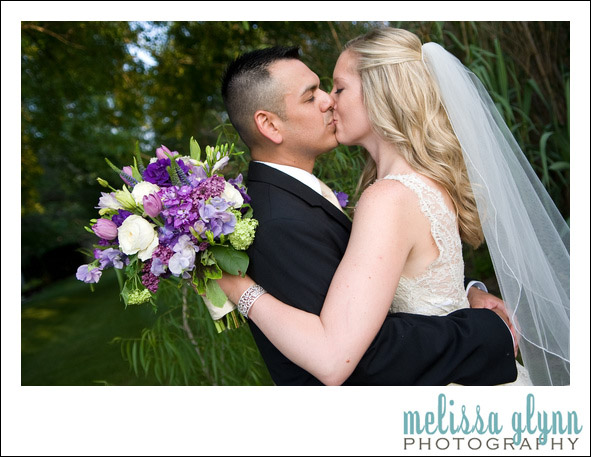 of purple spring flowers and you have prettiness I loved this bridal