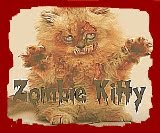 It's a Zombie! It's a Kitty! It's a Zombie Kitty! What's not to love?!
