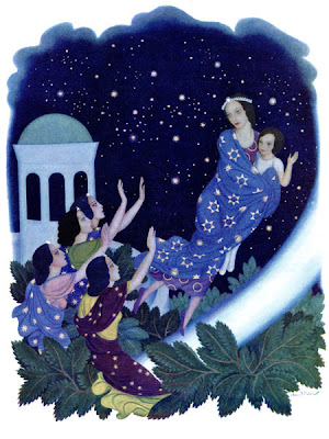 Edmund Dulac Daughters of the Stars