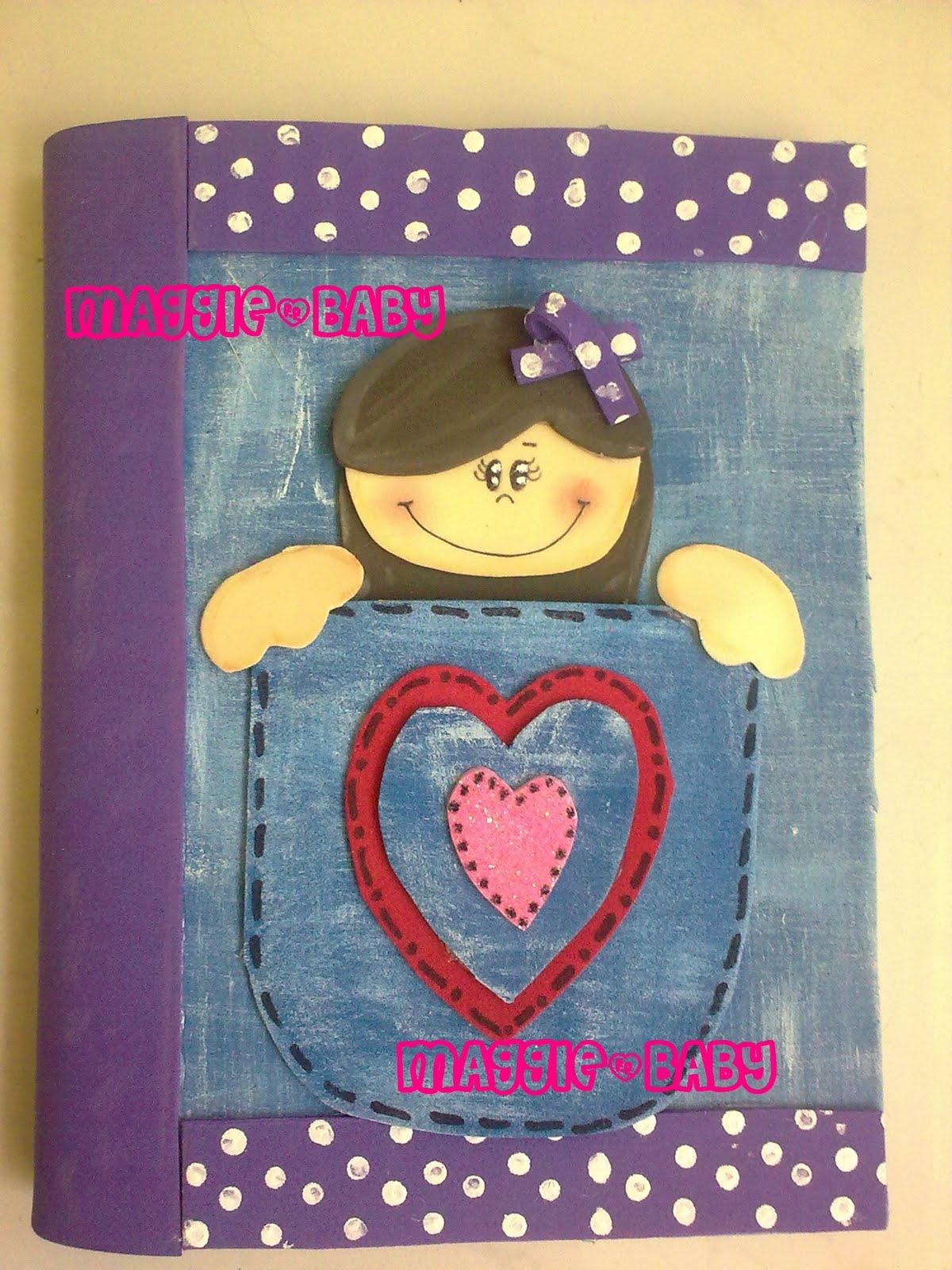 Detallitos Maggie: Cuadernos forrados