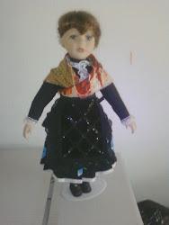 Muñeca traje de labradora