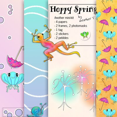 Heather Taylor, Hoppy Spring Freebie