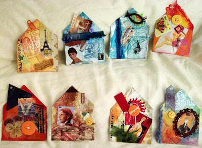 Heather Taylor, Altered Chipboard Houses