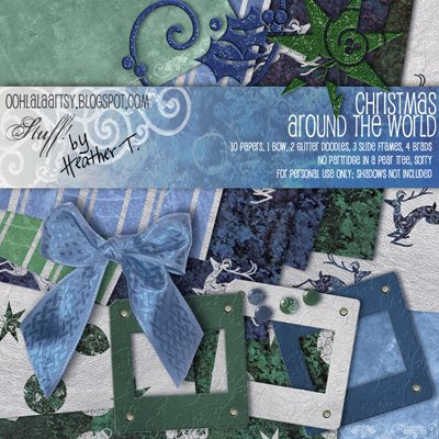 Heather Taylor, Christmas Around The World Mini-Kit