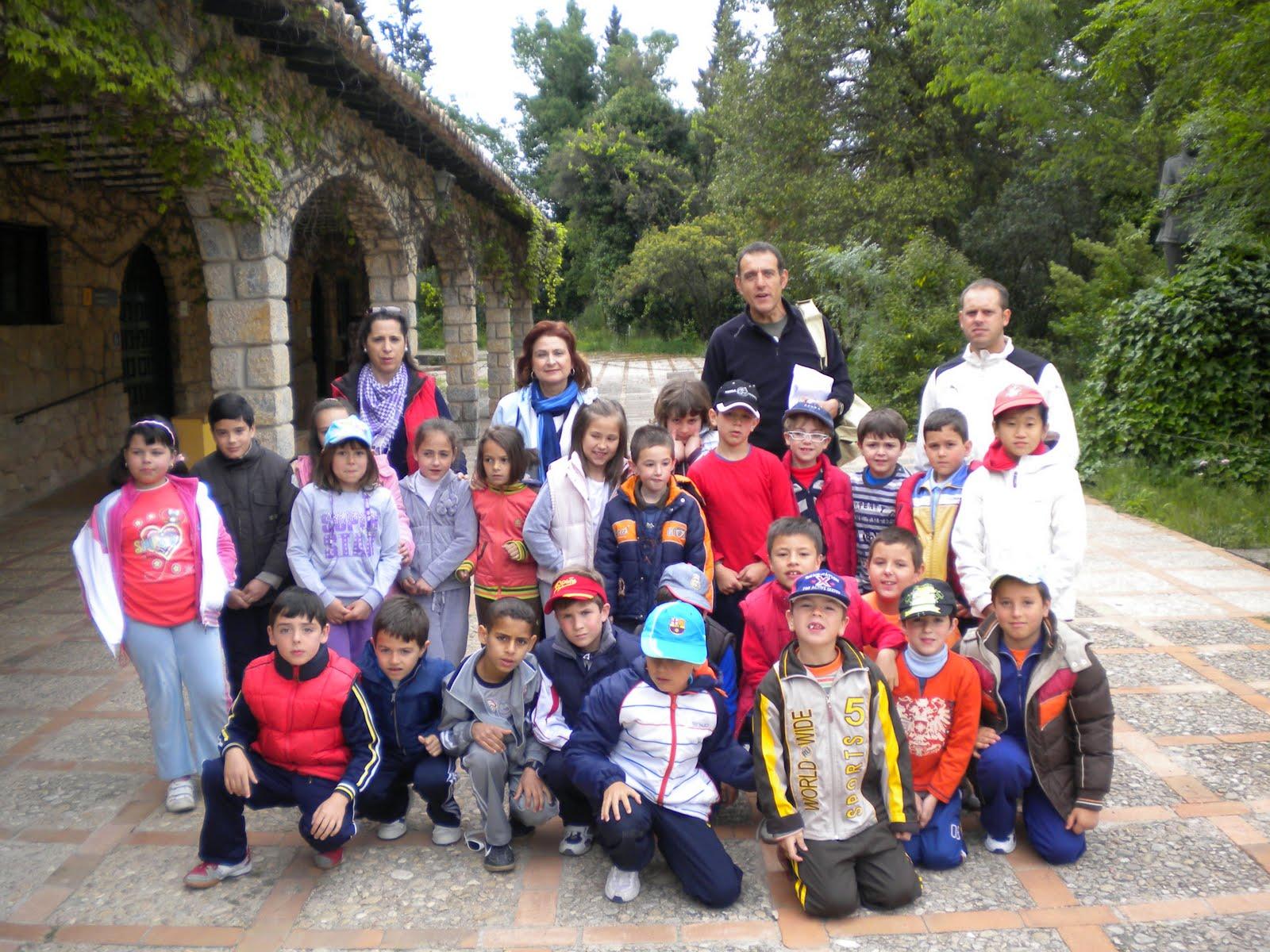La ecoescuela del ceip antonio machado taller de ecologia for Ceip jardin botanico