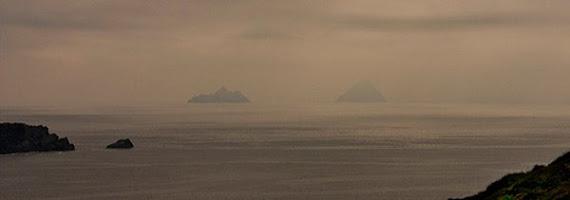 """Mythique et emblematique, cette mer des """"Skellig Rocks"""""""