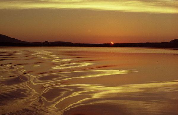 Wann een owes mam Boot iwert den Fertha River zereck op Cahersiveen kennt. (Absolut fantastesch)