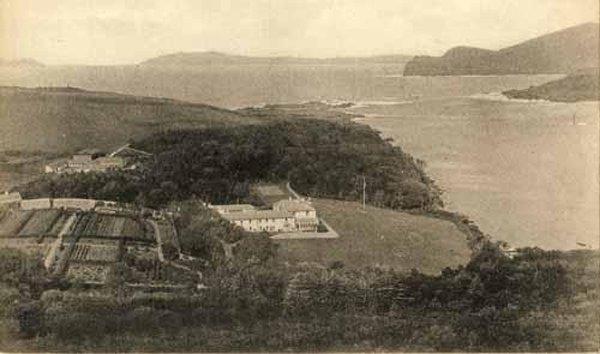 """Glanleam House, den Setz vun den """"Knights of Kerry"""" em dei 1900"""