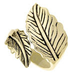 forever21 leaf wrap ring @fashionpickles