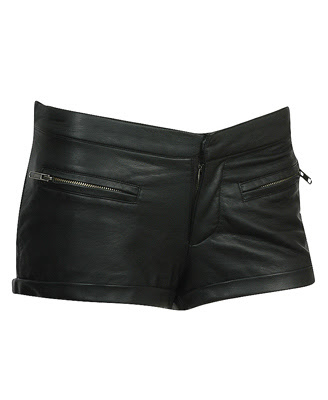 black leather shorts @fashionpickles