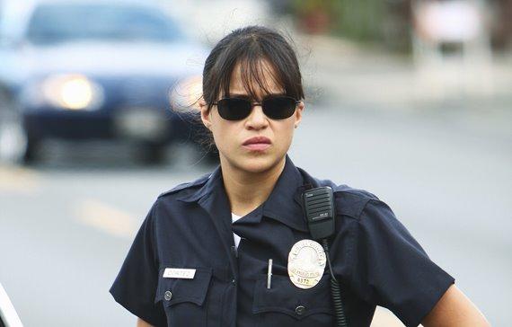 police car  flash
