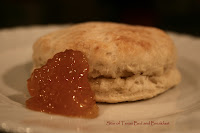 homemade biscuit and jelly