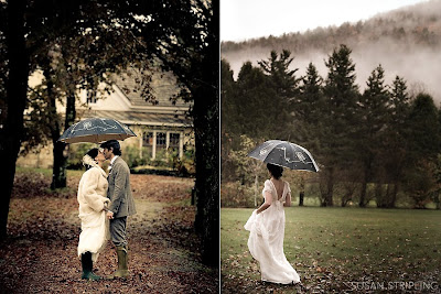 Favors with love rainy wedding day check out this beautiful rainy day wedding by susan stripling photography click on over there to see more complete with rain boots umbrellas and all junglespirit Choice Image