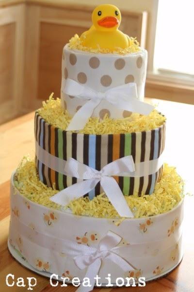 Cap Creations Diy Diaper Cake