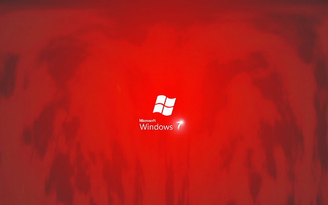 wallpaper red hd. Windows 7 Red Edition High