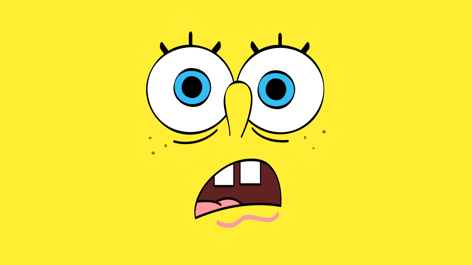 wallpapers box funny spongebob face hd wallpapers