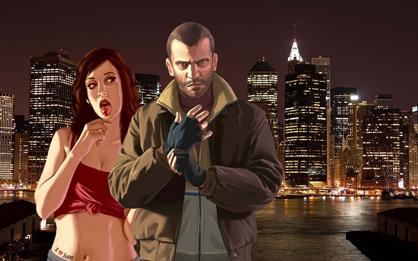 wallpapers box grand theft auto iv gta4 hd widescreen