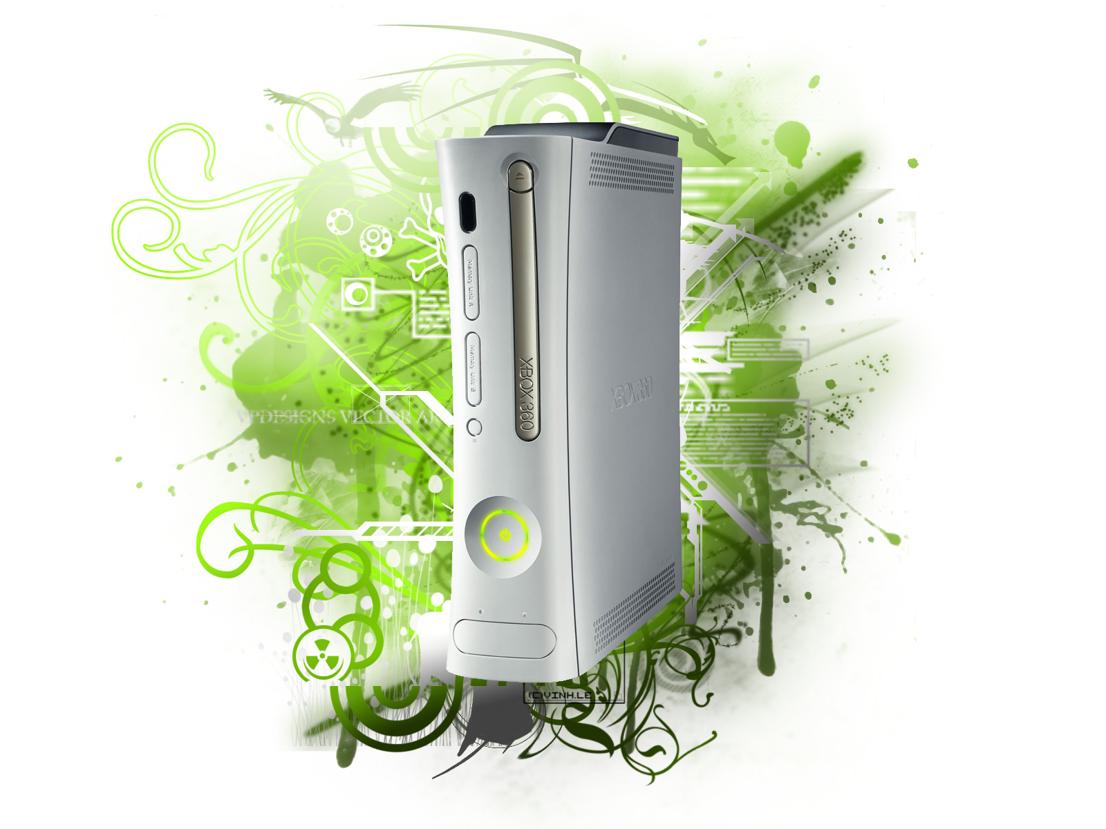 Wallpapers Box Xbox360 Green And Black Hd Wallpapers