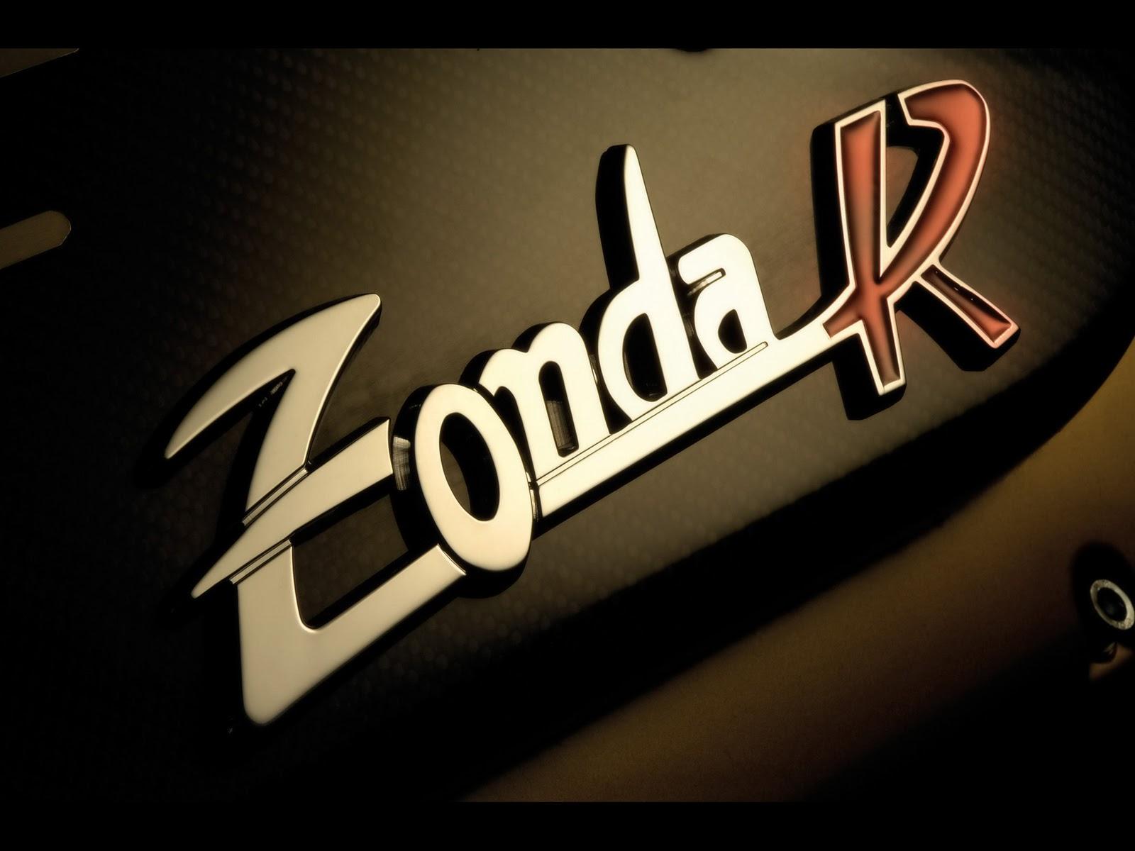 Pagani Zonda R Dashboard Logo
