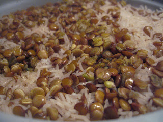 Adas Polow (Rice and Lentils): The Cheater's recipe by Ng @ What's for Dinner?